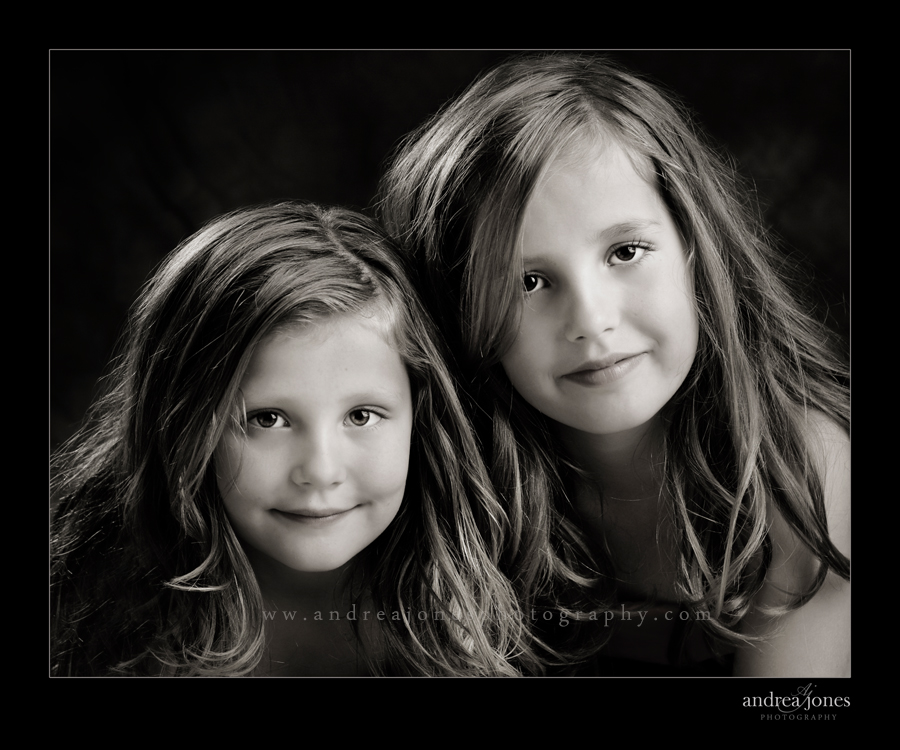 Sisters photographed by © Andrea Jones Photography, Heirloom Portraiture, Helena MT
